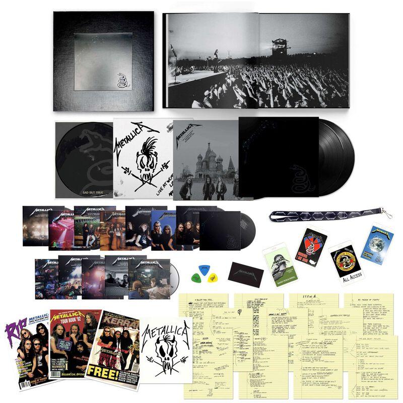 [Précommande] Album Vinyle Metallica Black Album - Edition Limitée Coffret Super Deluxe