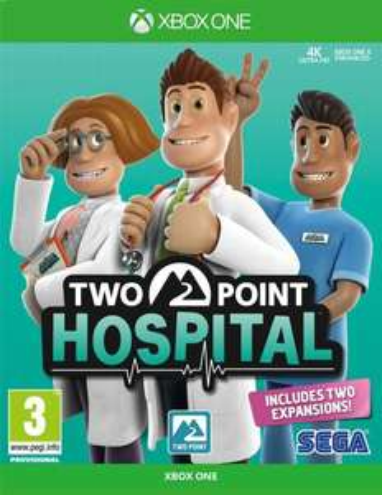 Two Point Hospital sur Xbox One (via retrait magasin)