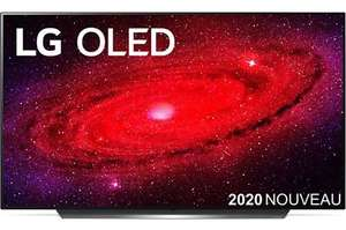 "TV 65"" LG OLED65CX6 (2020) - 4K UHD, OLED, Smart TV"