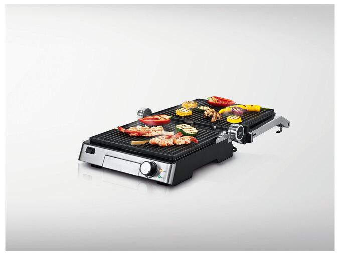 Grill 3 en 1 Silvercrest - 2000W (Gril de contact, Gril pour panini, Gril de table)