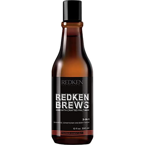 Shampooing revitalisant et Gel douche Redken Brews - 300 ml