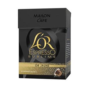Capsule café l'or Espresso