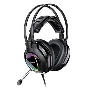 Casque-Micro gaming filaire Tronsmart Alpha pour PC / PS4 & PS5 / Xbox One & Series / Switch - LED RGB (Vendeur tiers)