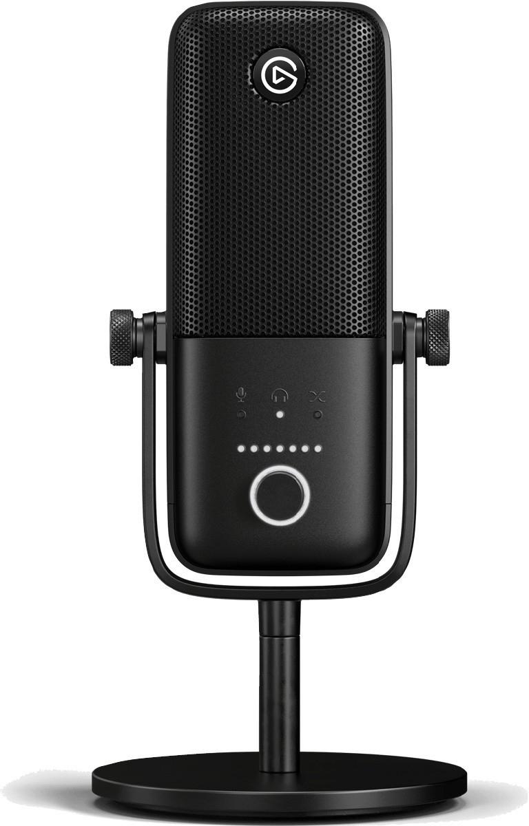 Microphone à condensateur USB Elgato Wave:3 - noir