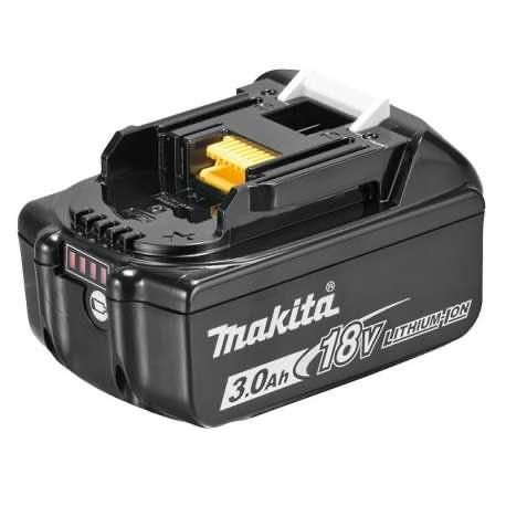 Batterie avec témoin de charge Makita BL1830B Li-Ion - 18V, 3.0 Ah