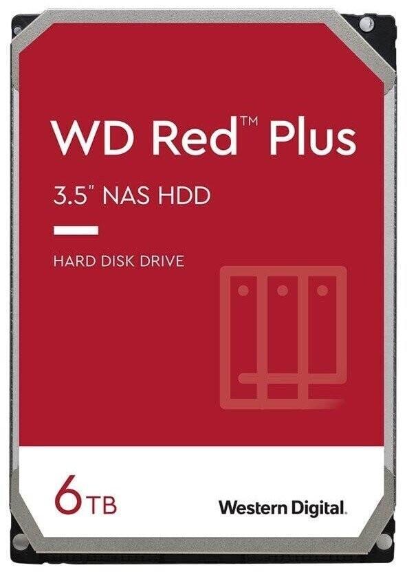"Disque dur interne 3.5"" Western Digital Red SATA III - 6 To"