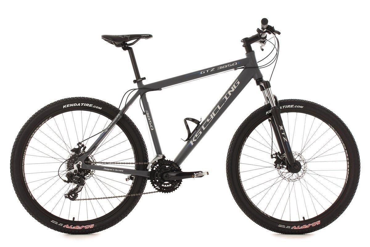 "VTT 26 ou 27,5"" KS Cycling GTZ semi-rigide - Anthracite, TC 51cm"