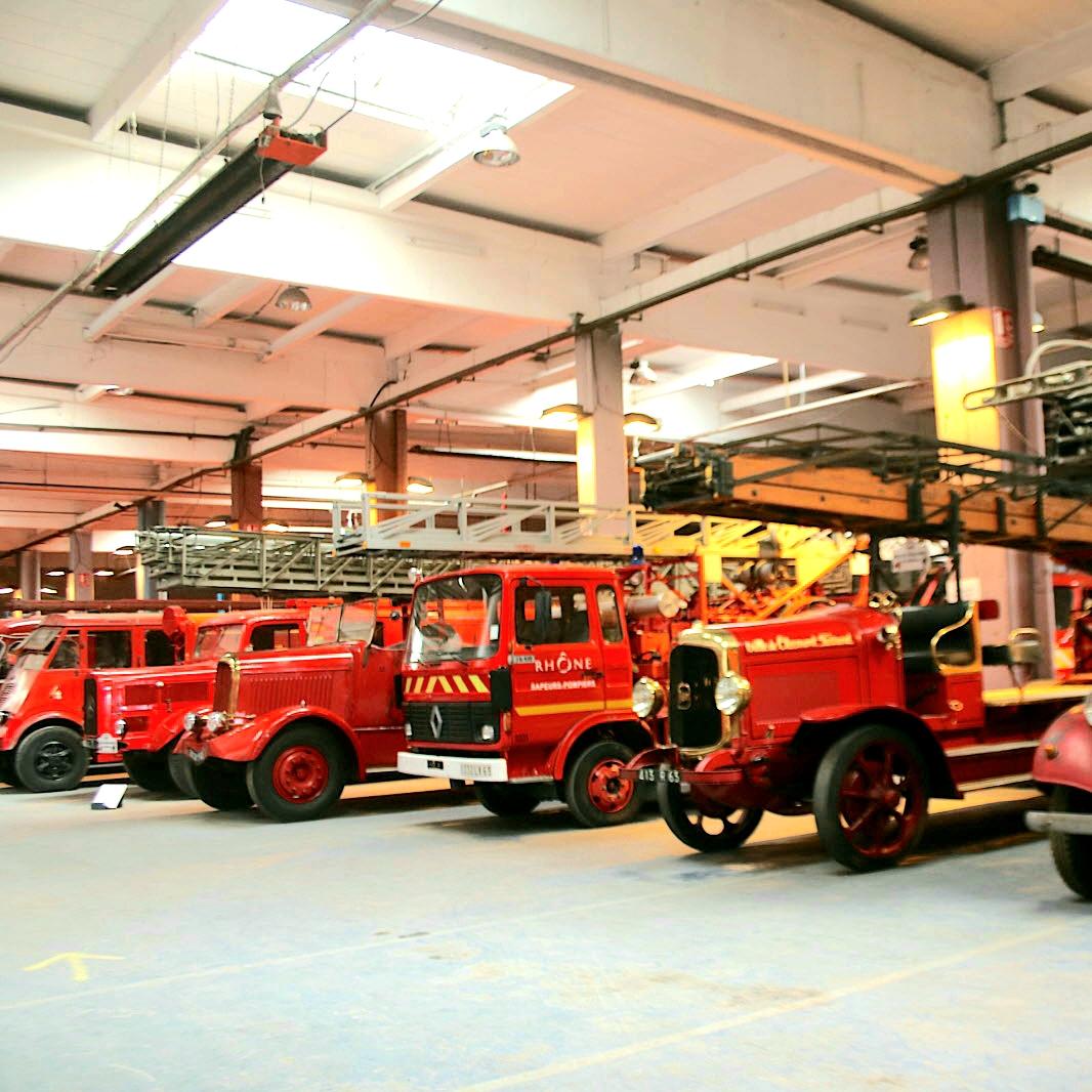 Entrée gratuite à la Réserve du Musée des Sapeurs-Pompiers - Vaulx-en-Velin (69)