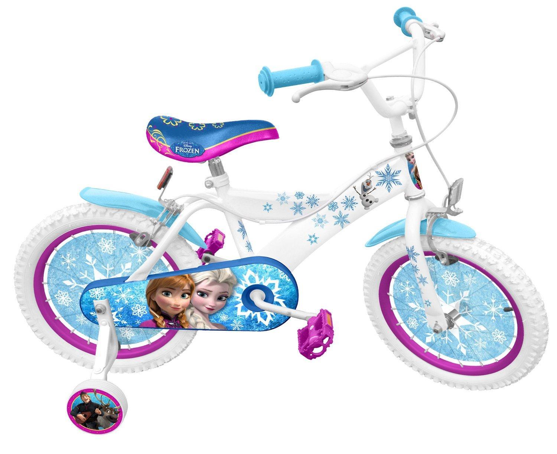 vélo 16 pouces La Reine des Neiges Stamp