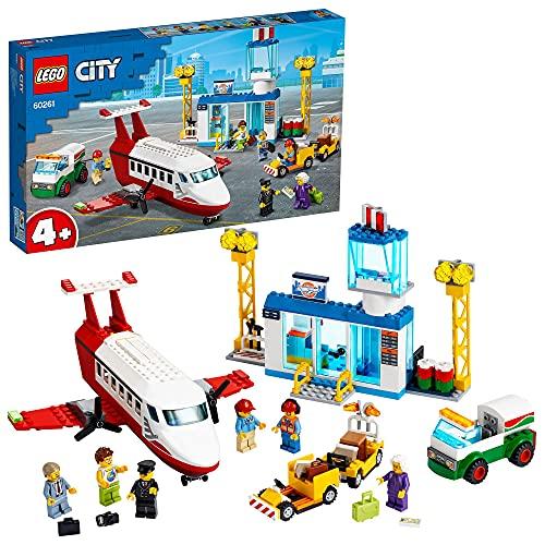 Jeu de construction Lego City (60261) - L'aéroport central
