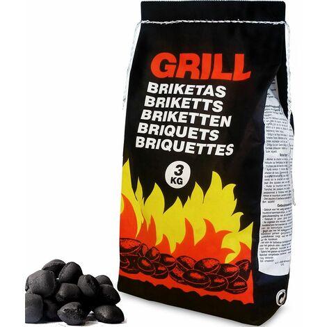 Sac de briquettes/charbon de bois - 21kg (7x3Kg)