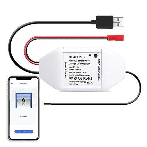 Kit ouvre-porte de garage connecté Meross MSG100EU - Compatible Alexa, Google Assistant, SmartThings (Vendeur tiers)