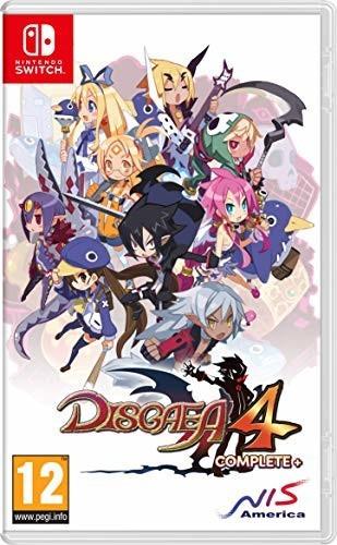 Disgaea 4: Complete+ sur Switch (via retrait en magasin)