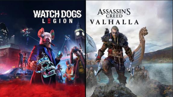 Bundle Assassin's Creed Valhalla + Watch Dogs: Legion sur PS4/PS5 (Dématérialisé - Store USA)