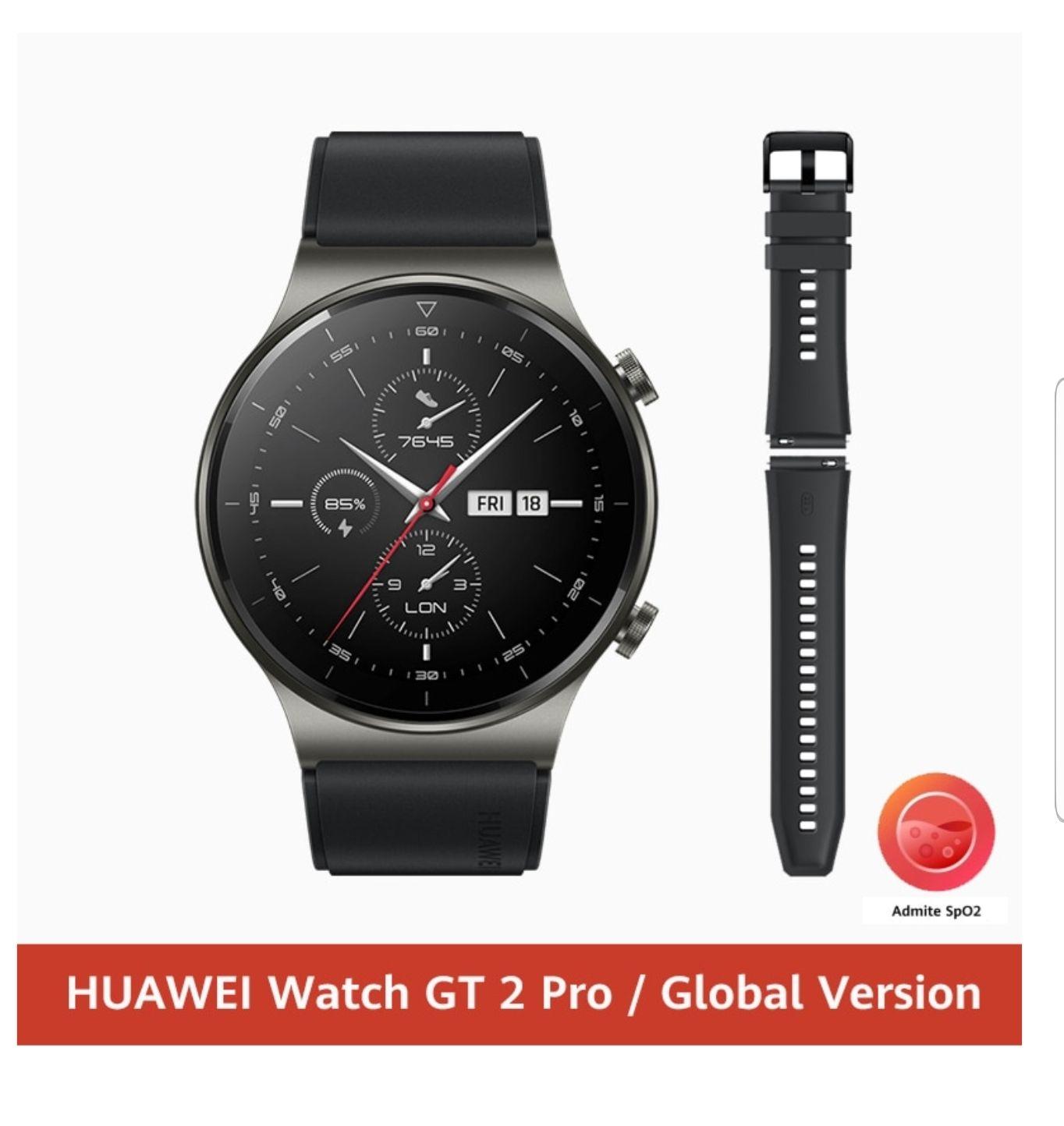 Montre connectée Huawei Watch GT2 Pro (156,28 via Code FRclearance24) - Entrepôt France