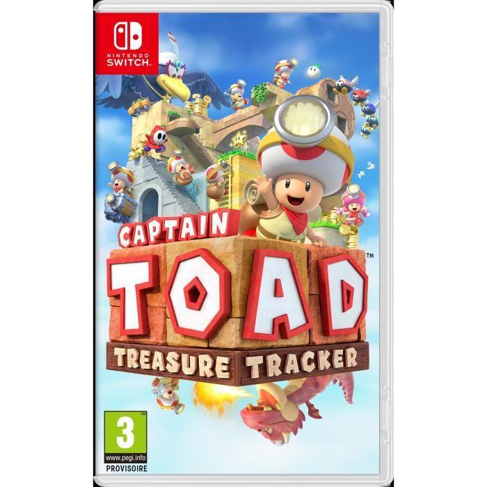 Sélection de jeux Switch en promotion - Ex : Captain Toad : Treasure Tracker