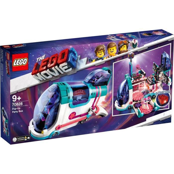 Jouet Lego Movie Le Bus Discothèque (70828)