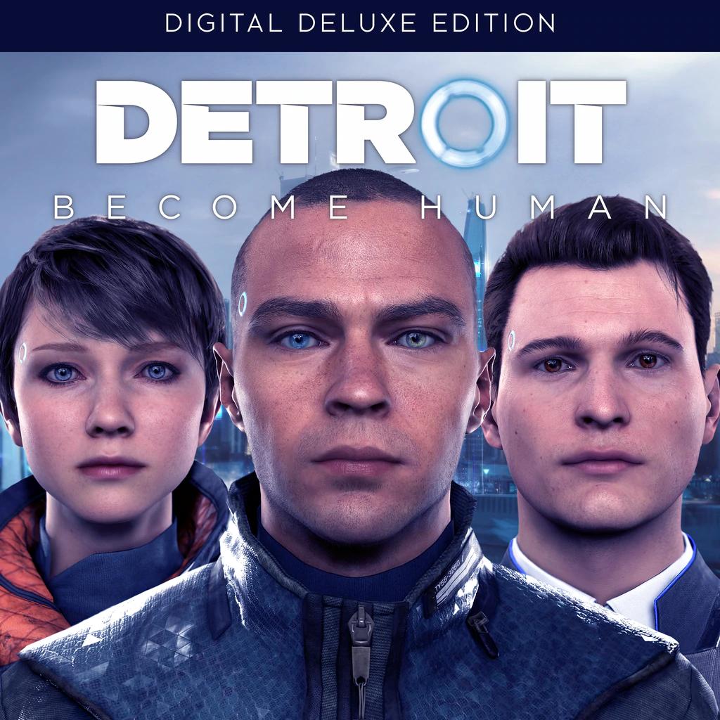 Detroit: Become Human deluxe Edition inclus Heavy Rain sur PS4 (Dématérialisé)