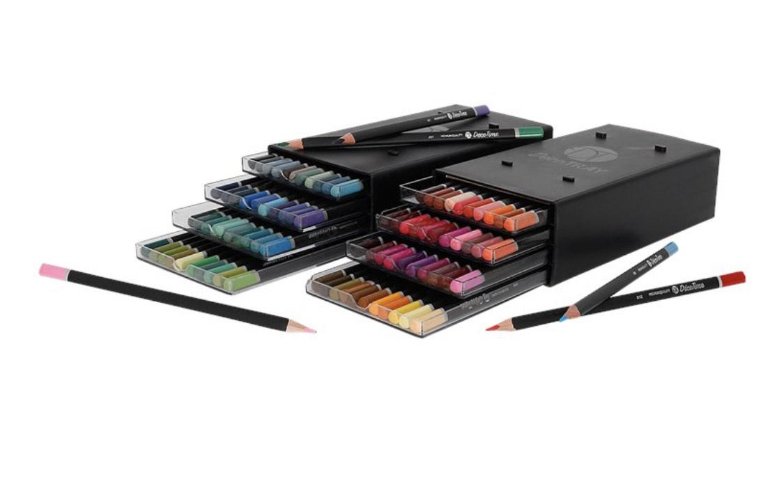 Crayons de couleur Decotime - 44 pièces