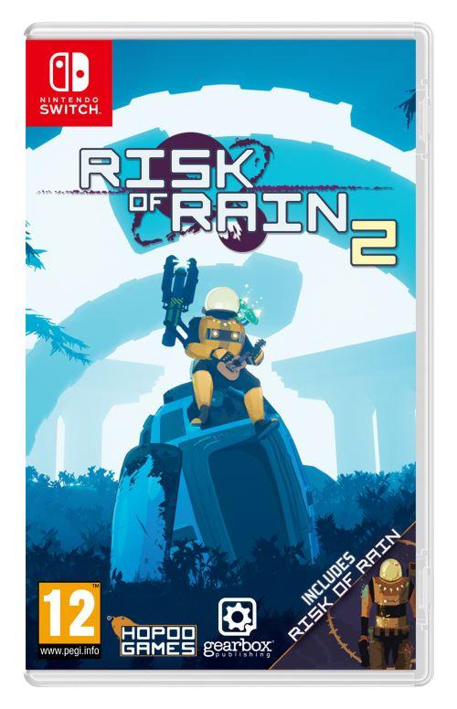 Sélection de jeux vidéo en promotion - Ex : Risk of Rain 1+2 sur Switch