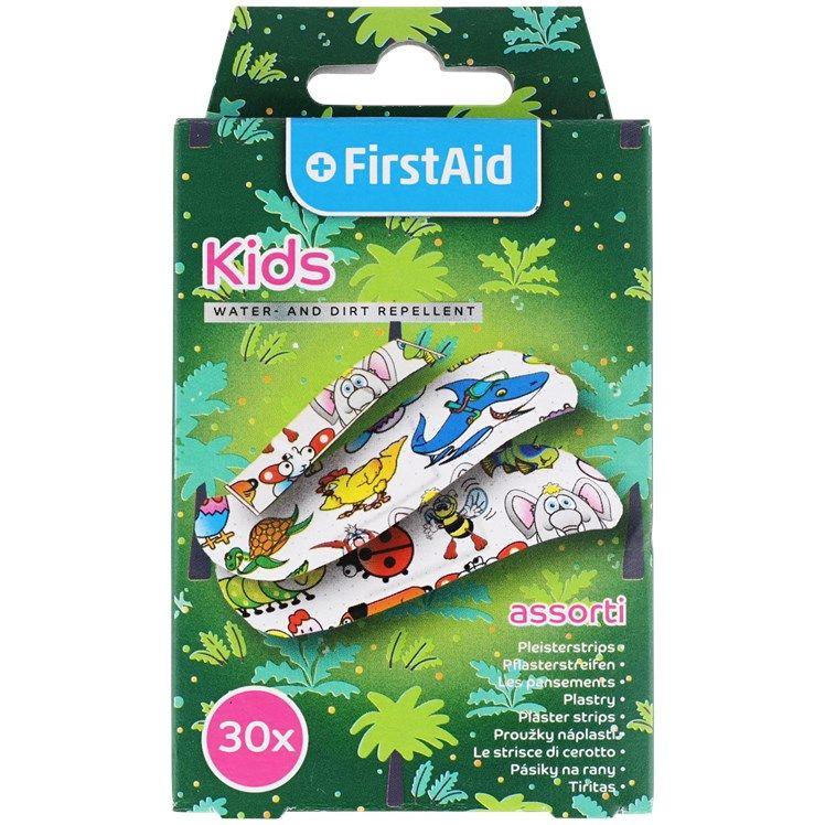 Boite de 30 Pansements enfants First Aid waterproof
