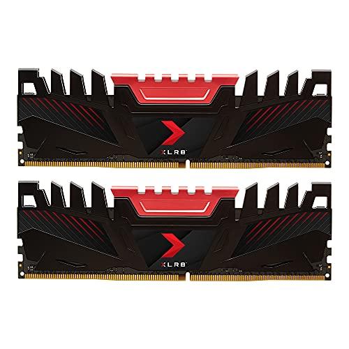 Kit mémoire RAM PNY XLR8 - 32 Go (2x 16 Go), DDR4, 3200 MHz, CL16 (MD32GK2D4320016XR)