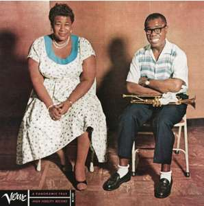 Vinyle Ella Fitzgerald and Louis Armstrong