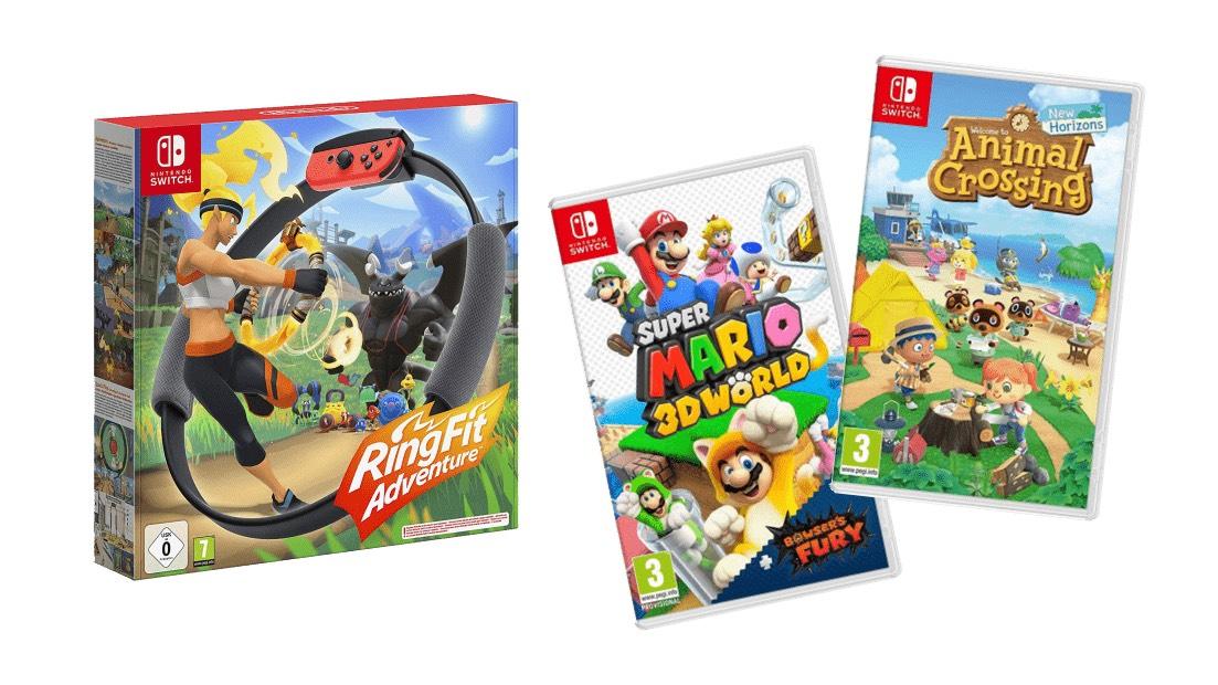 10% de réduction sur une sélection de produits Nintendo (Frontaliers Suisse)