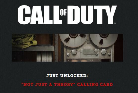 Carte visite gratuite pour Call of Duty (Dématérialisée - PC / Consoles)