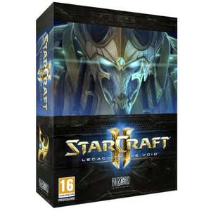 Starcraft 2 : Legacy of the Void sur PC (Version Boîte)  + Extension Heart Of The Swarm