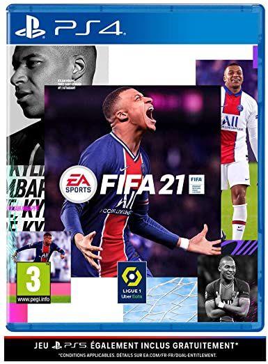 Fifa 21 sur PS4 et Xbox