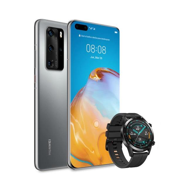 "Smartphone 6.58"" Huawei P40 Pro 5G - 8Go RAM - 256Go + Montre Connecté Huawei GT2"