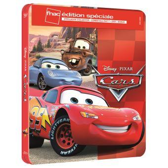 Sélection de Blu-ray Steelbook Disney / Pixar en promotion - Ex: Cars