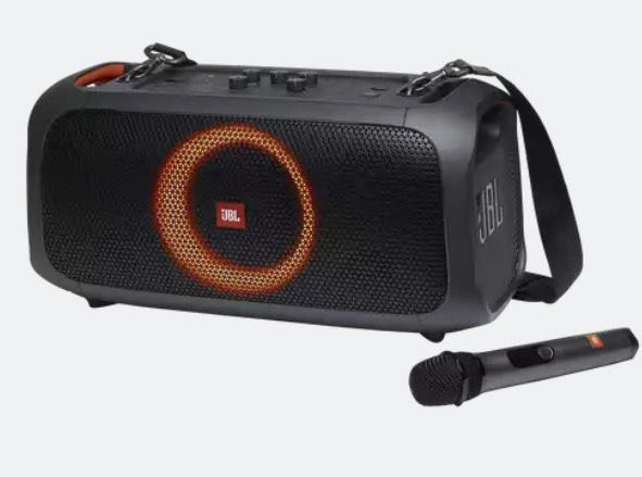 Enceinte portable JBL Partybox On The Go avec micro Noir