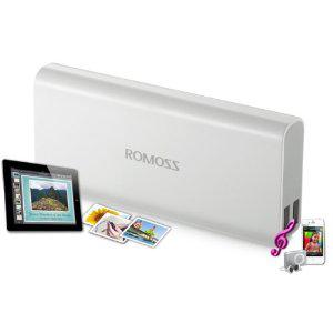 Batterie externe USB (2 Ports : 1A & 2.1A) 10400mAh
