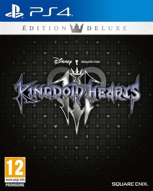Kingdom hearts 3 version Deluxe sur PS4