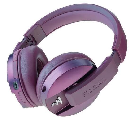 Casque Hifi Focal Listen Wireless Chic Pourpre