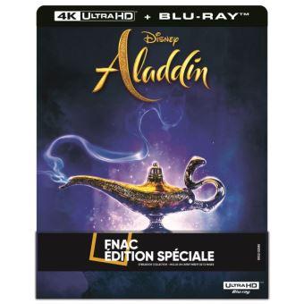 Blu-ray 4K Steelbook Aladdin : Edition Spéciale
