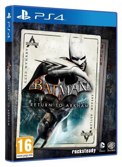 Batman Return to Arkham sur PS4