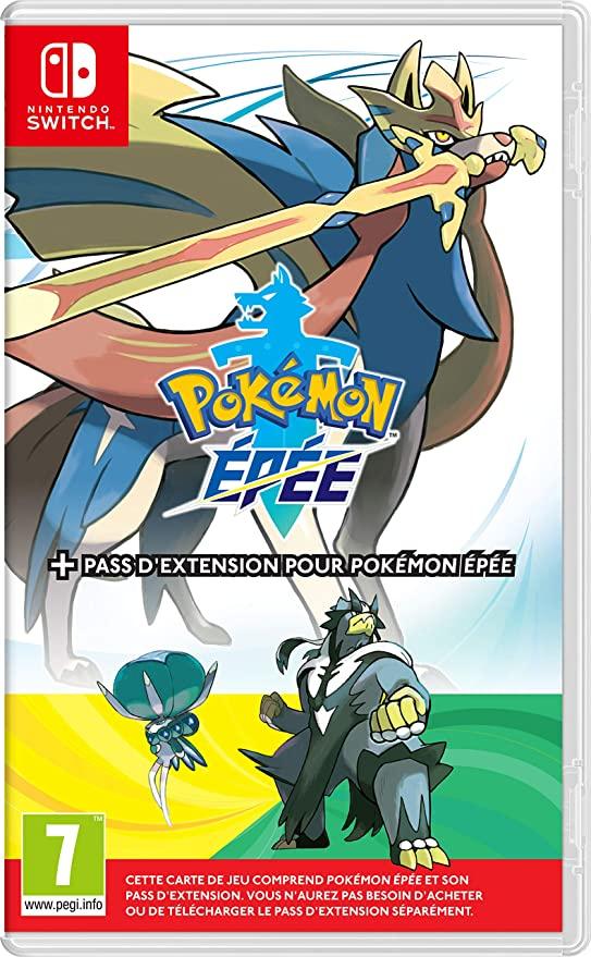 Pokémon épée sur Nintendo Switch avec pack extension inclus