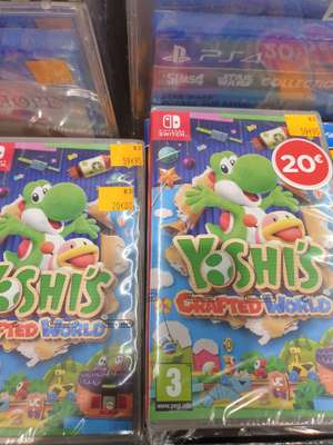 Yoshi's Crafted World sur Switch - Les Ulis (91)