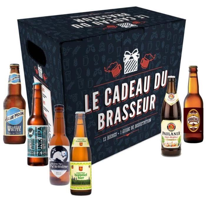 Coffret de 12 bières Le cadeau du brasseur
