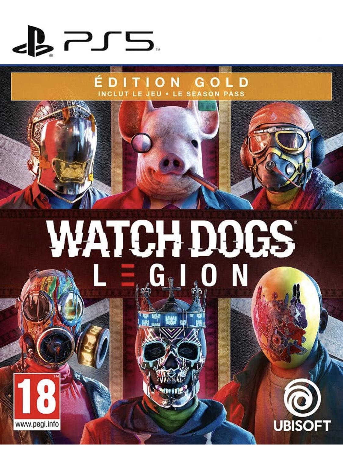 Watch Dogs Legion Édition Gold sur PS5
