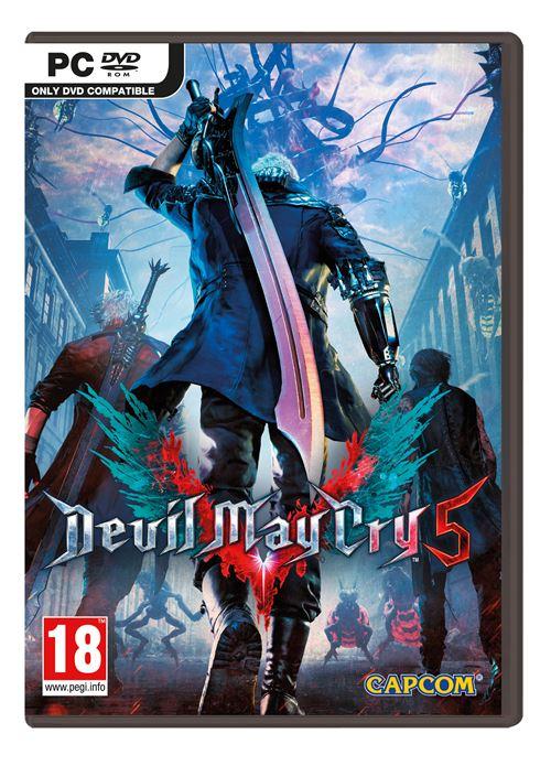 Devil May Cry 5 sur PC (Code de téléchargement Steam)
