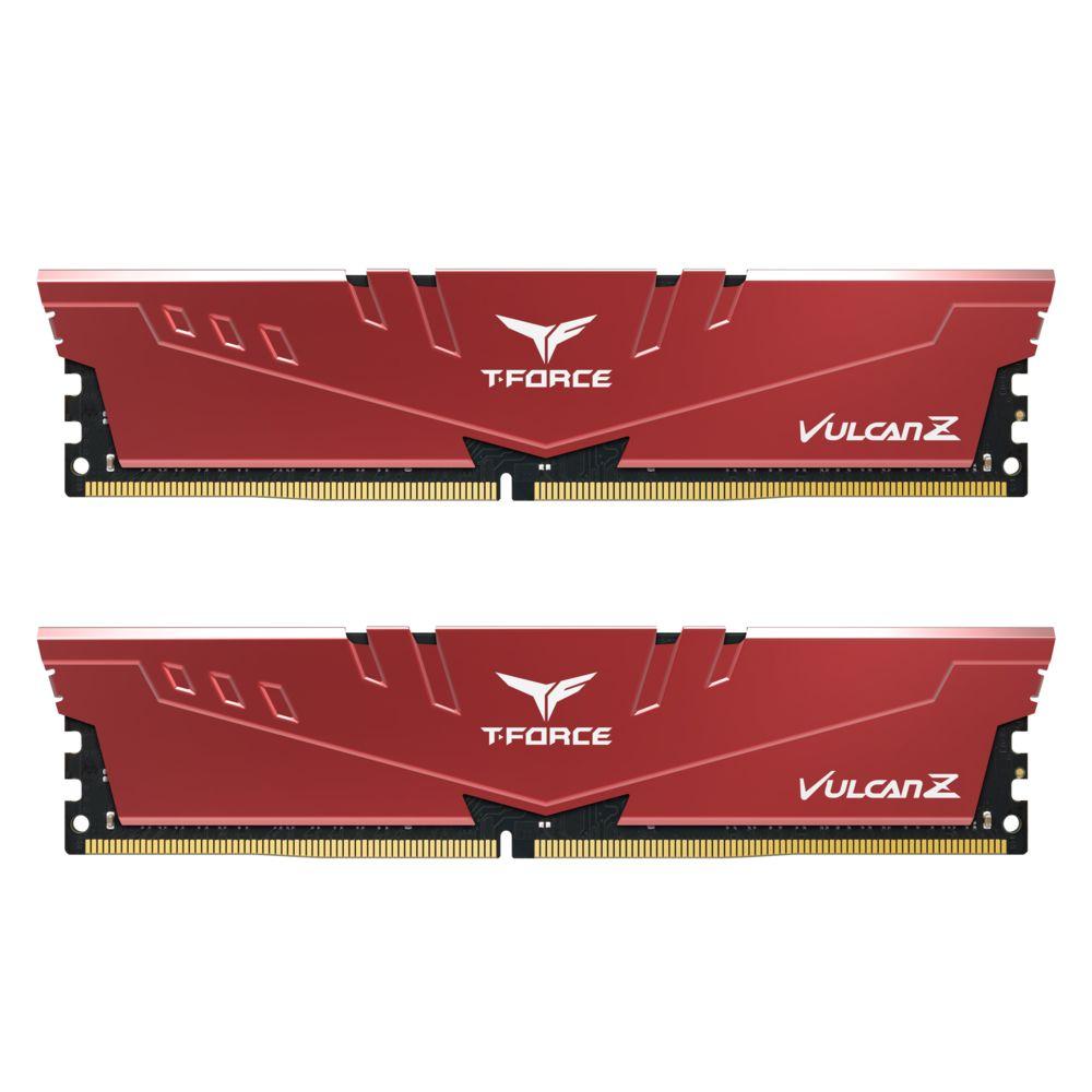 Kit mémoire RAM DDR4 T-Force Vulcan Z 16 Go (2x8Go), 2666 CAS 18