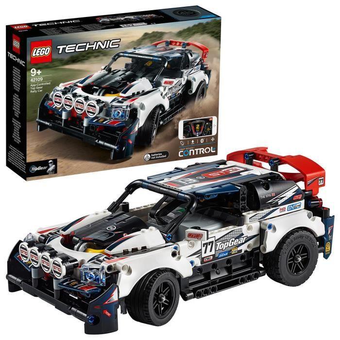 Jouet Lego Technic (42109) - La Voiture de Rallye contrôlée