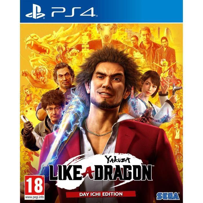 Yakuza 7 Like a Dragon Day Ichi Edition sur PS4