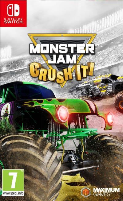 Monster Jam Crush It sur Nintendo Switch