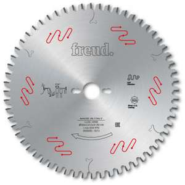 Lame de scie circulaire Freud AL30 Z48 Gouge F03FS05077 - revêtue deux faces, 25 cm