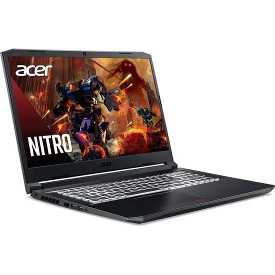 "PC Portable gaming 17.3"" Acer Nitro AN517-52-505S - FHD 144 Hz, i5-10300H, RAM 16 Go, SSD(NVMe) 512 Go, RTX 3060, Windows 10"